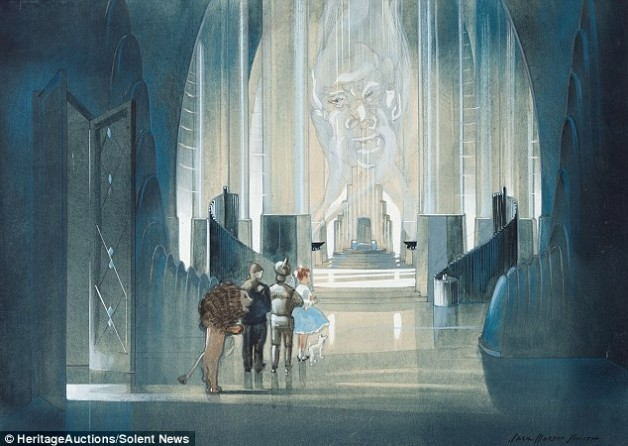 Paintings of Wizard of Oz Movie Set Sold